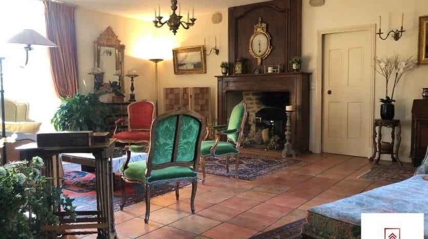 belle-demeure-a-vendre-alencon-cheminee