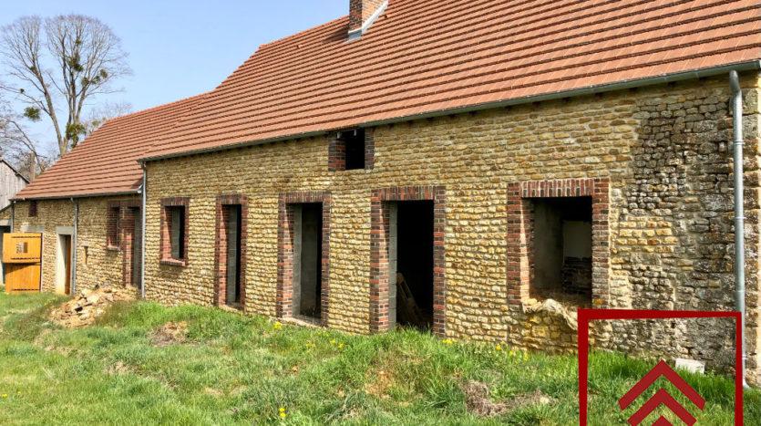 longere-perche-a-vendre-facade-sud