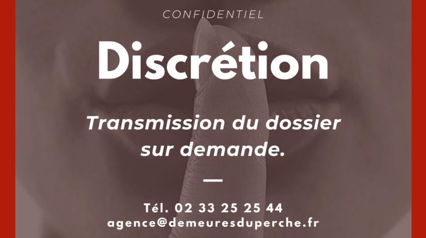 discretion dossier sur demande